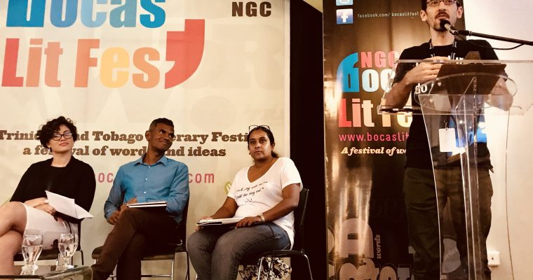 Listen to interview with Nicholas Laughlin, Programme Director of NGC Bocas Lit Fest